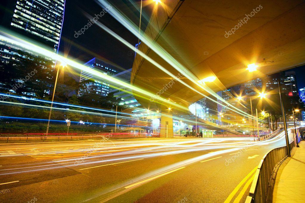 Фотообои Traffic night