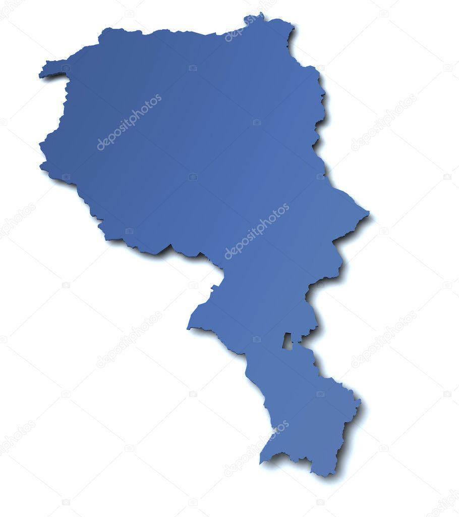 Map Of Ticino Switzerland Stock Photo C Jogg2002 9393179