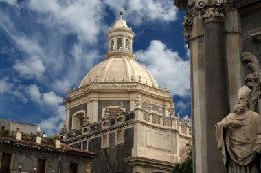 Catholic church of Catania. Sicily, southern Italy