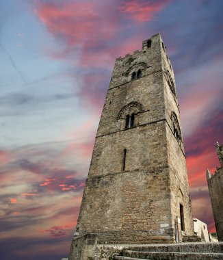 Medievel Catholic Church. Erice, Sicily