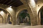 Fotografia quartiere gotico di Barcellona