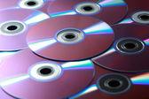DVD pozadí