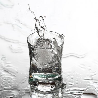 Vodka splash