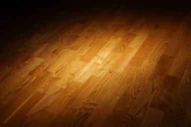 Artistic parquet floor