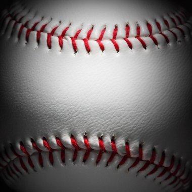 Closeup of an baseball