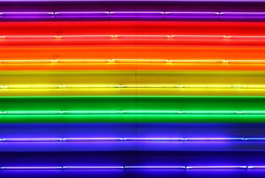 Colorful neon background