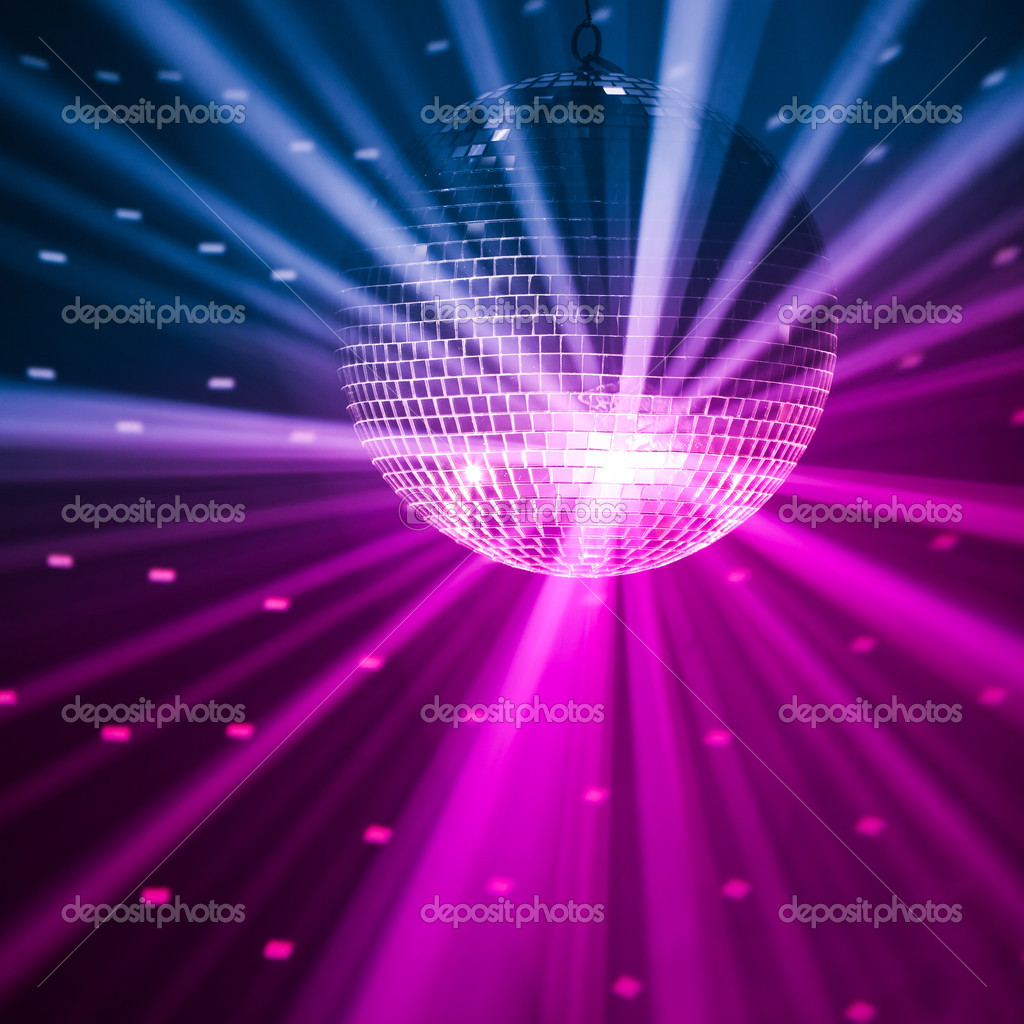 Party lights background — Stock Photo © nikkytok #10236184