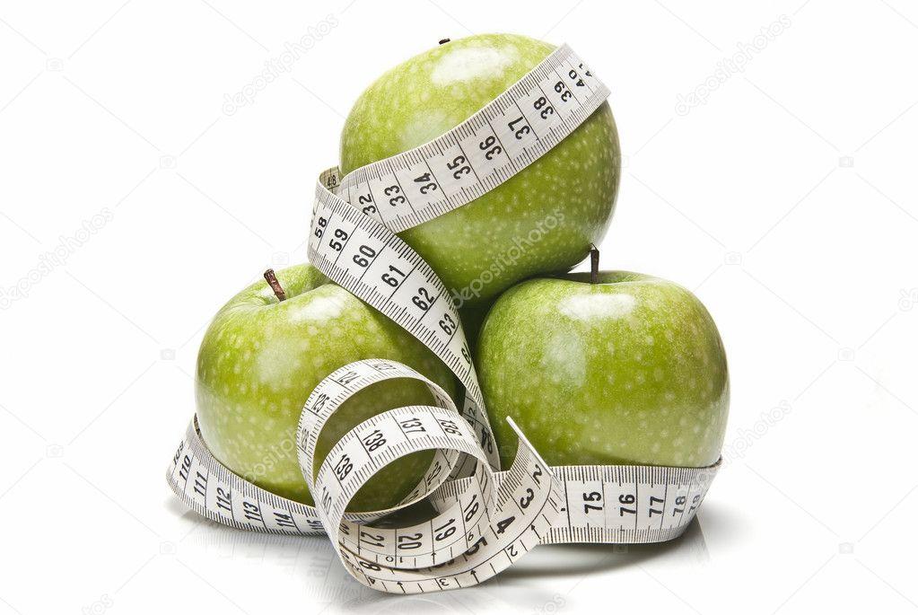 Como hacer dieta con manzana verde