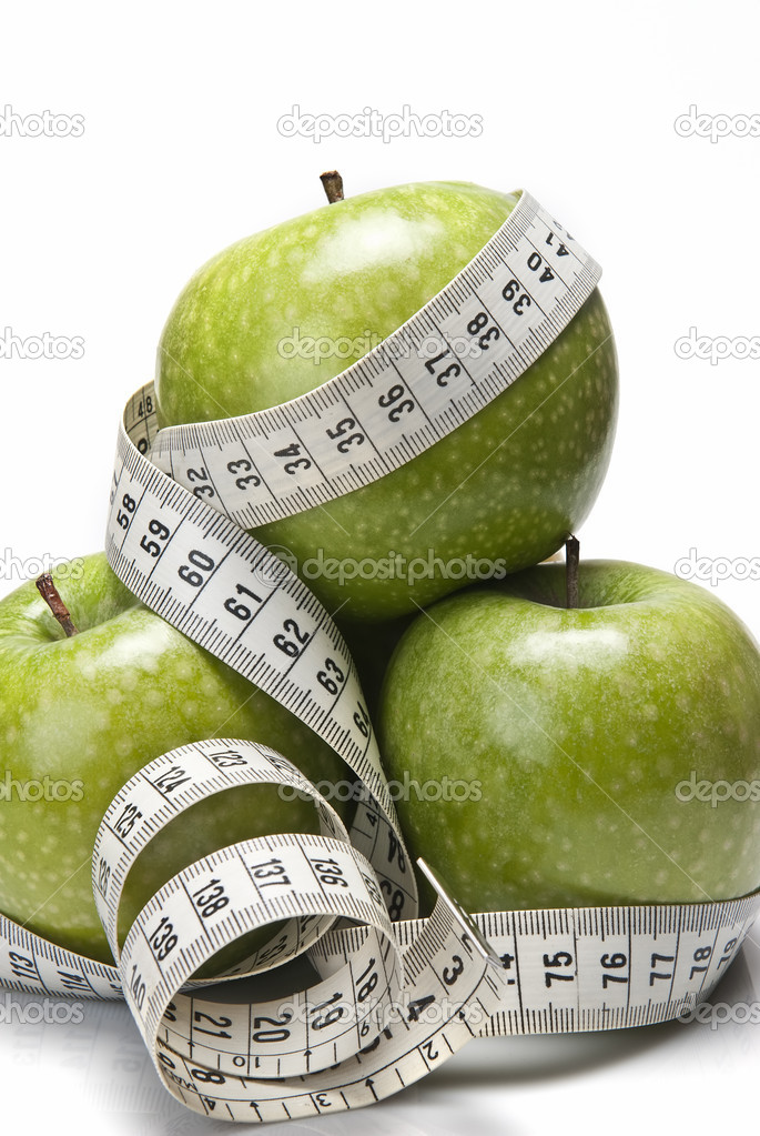Apples to lose weight.