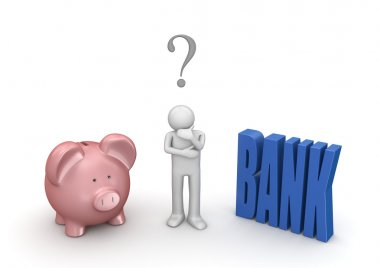 Choosing whether open bank account or leave in piggybank