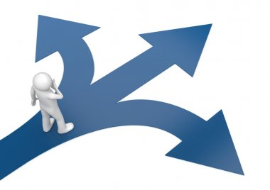 2010 new choose your way 2 (3d isolated characters, business series)