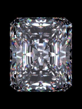 Diamond radiant cut