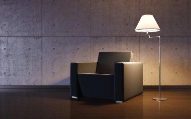 Cosy minimalism interior