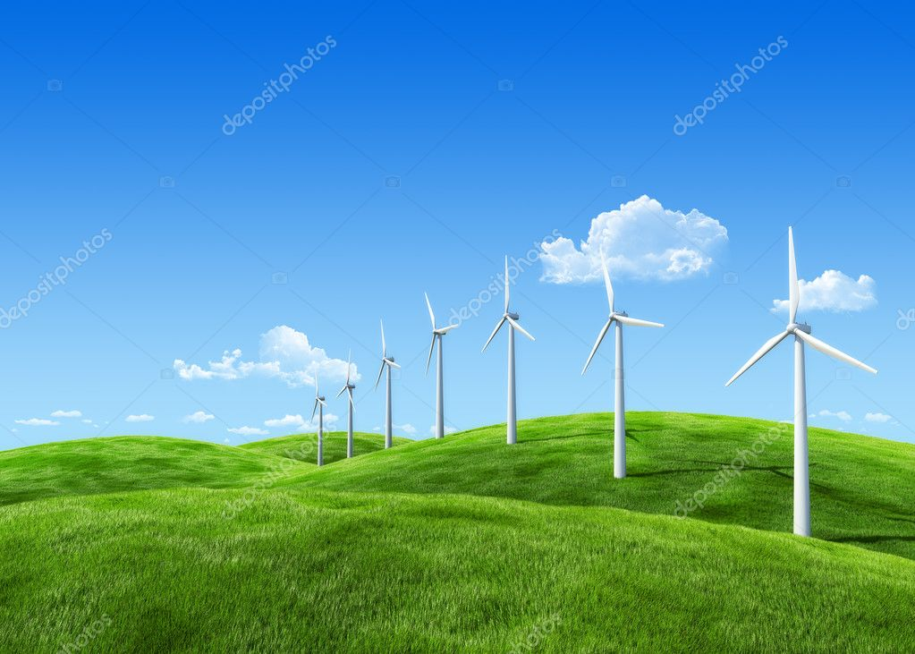 7000px nature collection - Wind power station