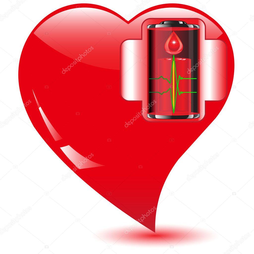 украшения батарейка любви картинка скажу, что большой