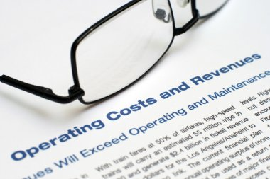 Operating costs and revenues