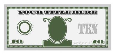 Ten money bill