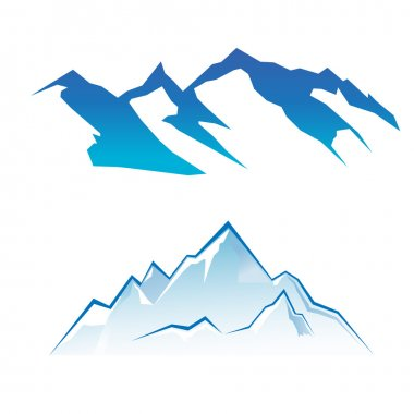Mountains in two styles