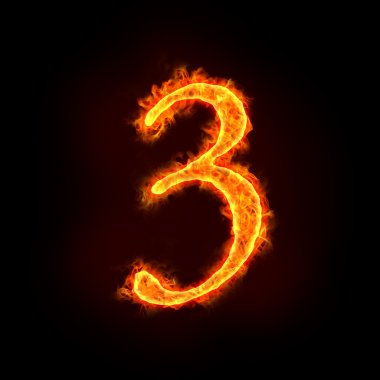 Fire numbers, 3