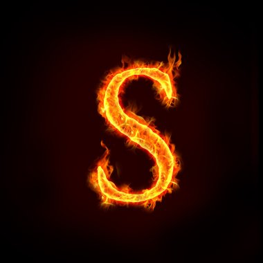 Fire alphabets, S