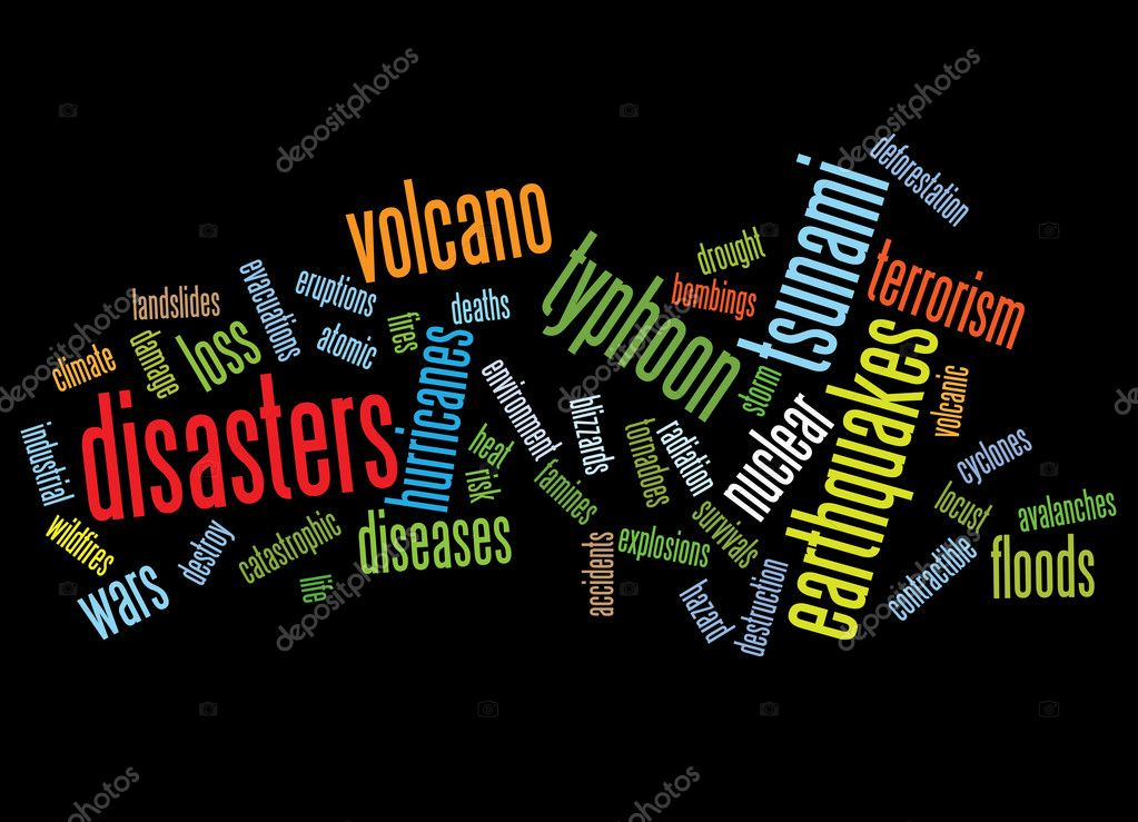 disasters background