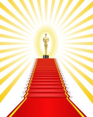 Golden Oscar Award.