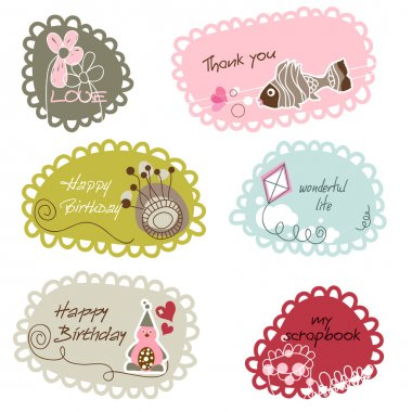 Cute frames or banners for kids