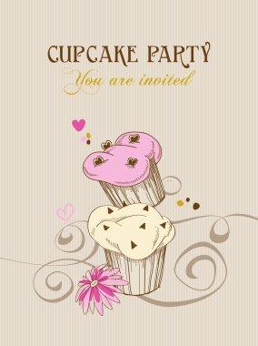 Vintage Cupcake-Plakatgestaltung. - Download Kostenlos Vector, Clipart  Graphics, Vektorgrafiken und Design Vorlagen
