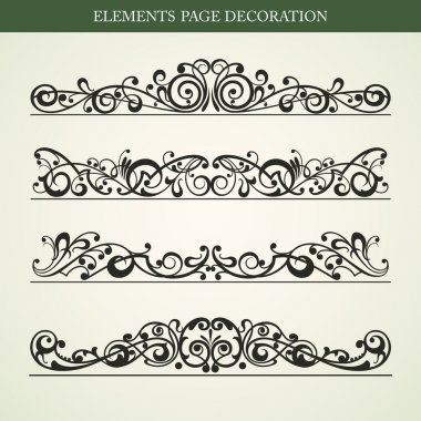 ELEMENTS PAGE DECORATION