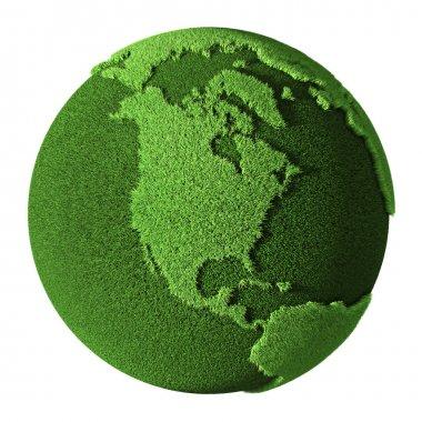 Grass Globe - North America