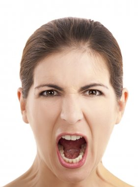 Shouting expression