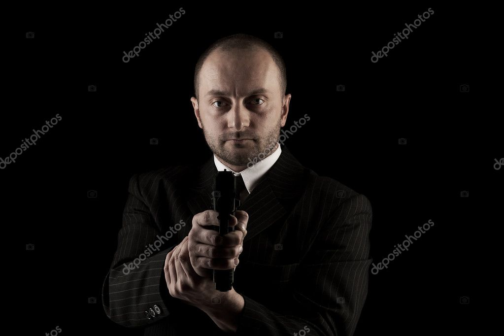 Armed and dangerous man — Stock Photo © grafvision #10578198
