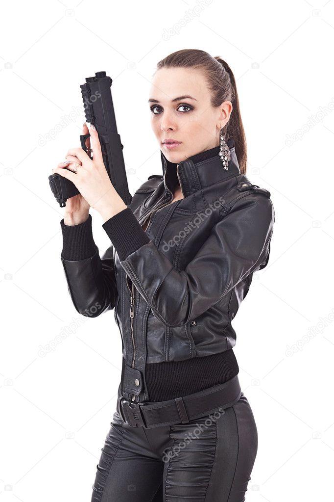 Девки в черной одежде фото 93-87