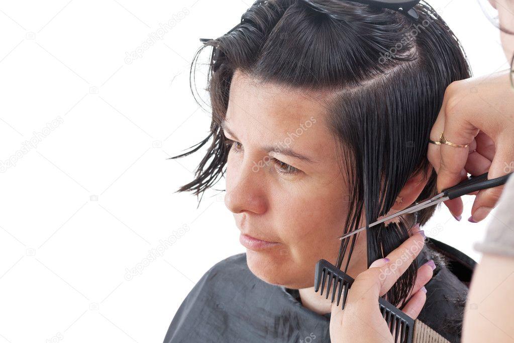 Hair Cutting Stock Photo Grafvision 10631031