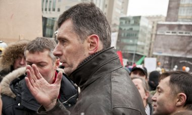Candidate for President of Russia, Mikhail Prokhorov