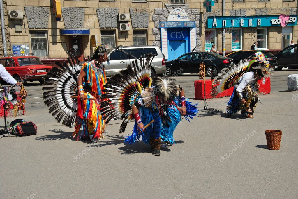 Street musicians Indians