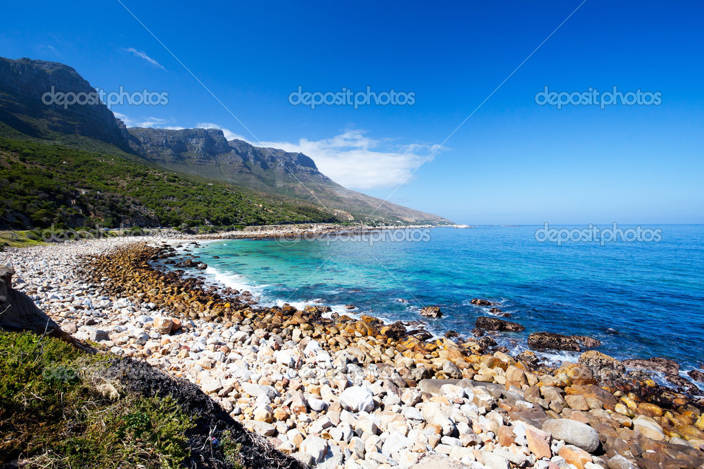 Hout bay beach, south africa