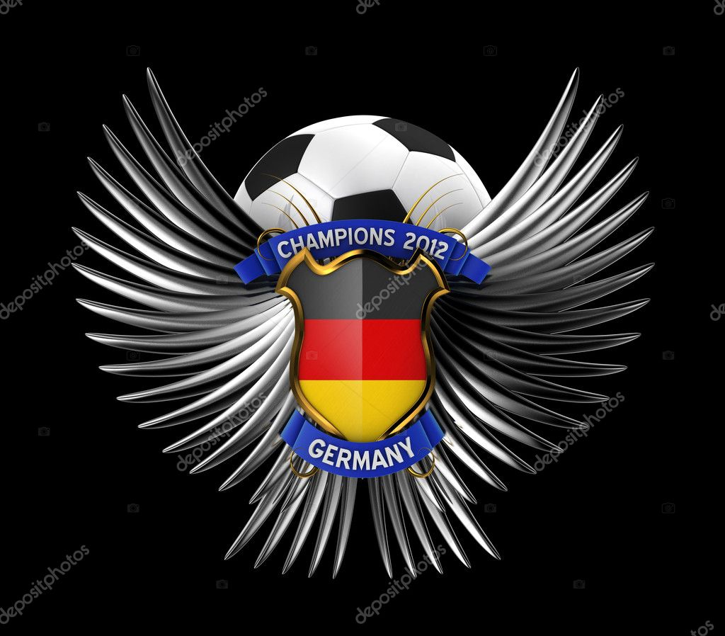 Germany Soccer Ball Stock Photo Creisinger 8245566