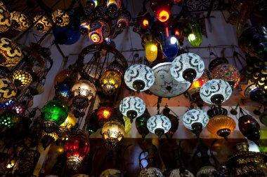 Turkish lanterns.