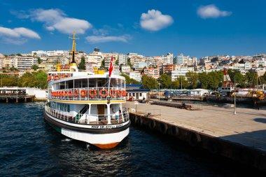bir görünümü, istanbul, Türkiye.