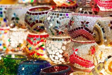 Handmade turkish holders for candels.