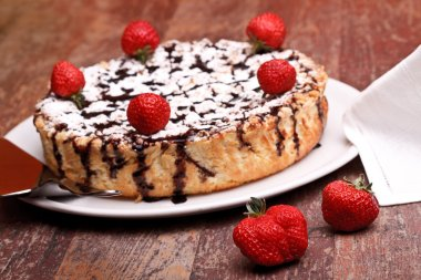 Cheesecake With Chocolate And Lemon