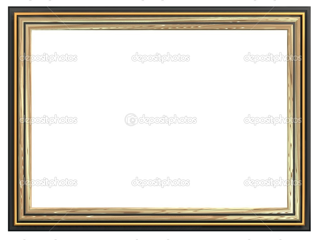 Marco rectangular para las pinturas y fotograf as for Marcos para pinturas