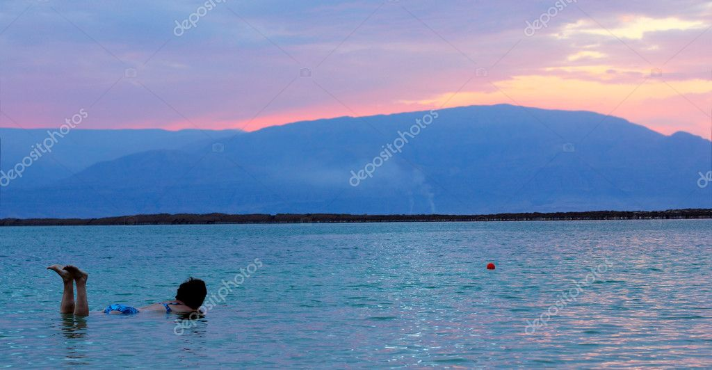 Sunrise at dead sea