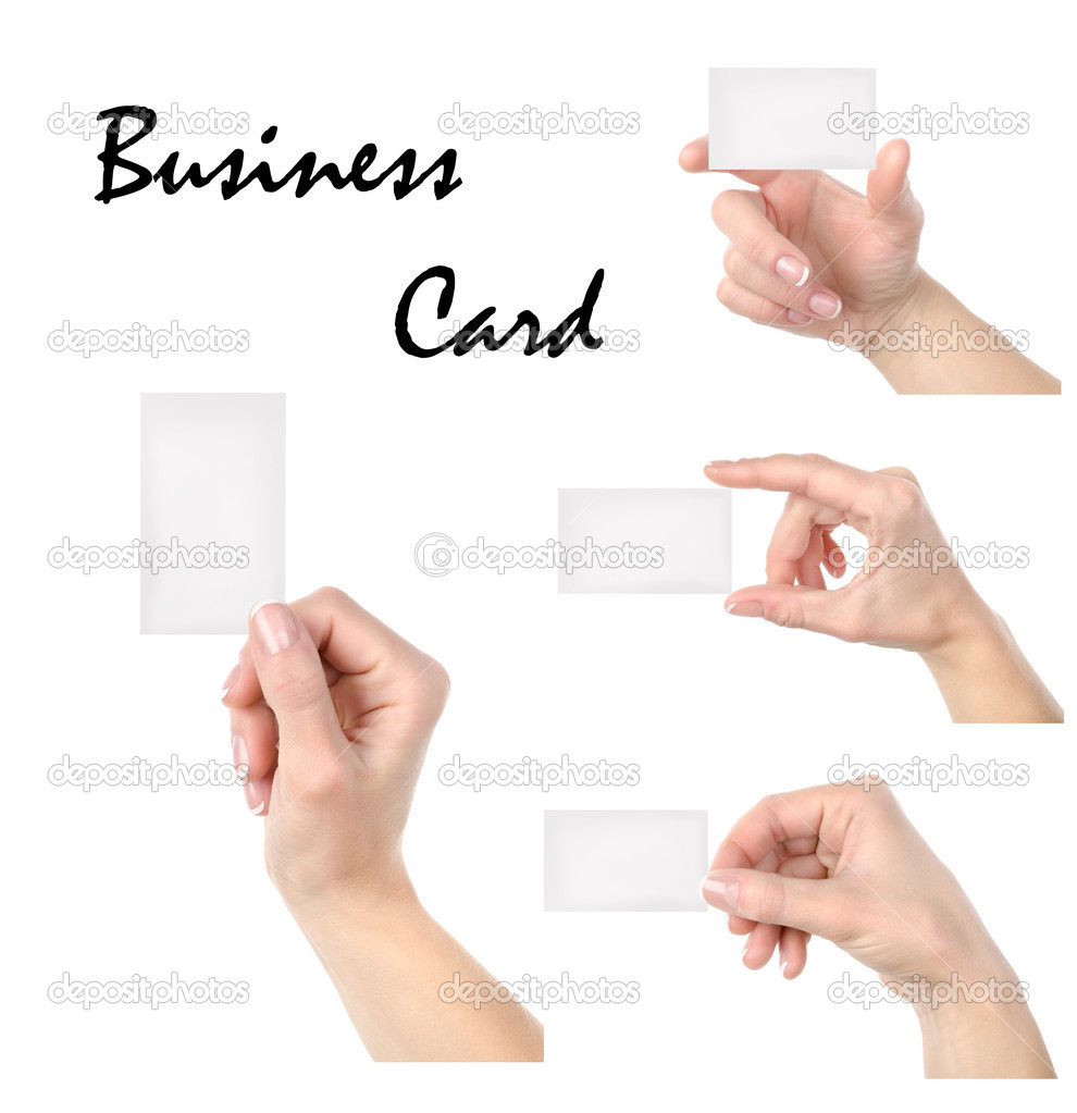 Business card collage stock photo givaga 8520331 business card collage stock photo colourmoves