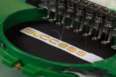 Success embroidery