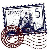 Fotografie Vektor-Illustration des isolierten Deutschland-Symbols