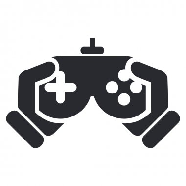 Vector illustration of isolated video game icon