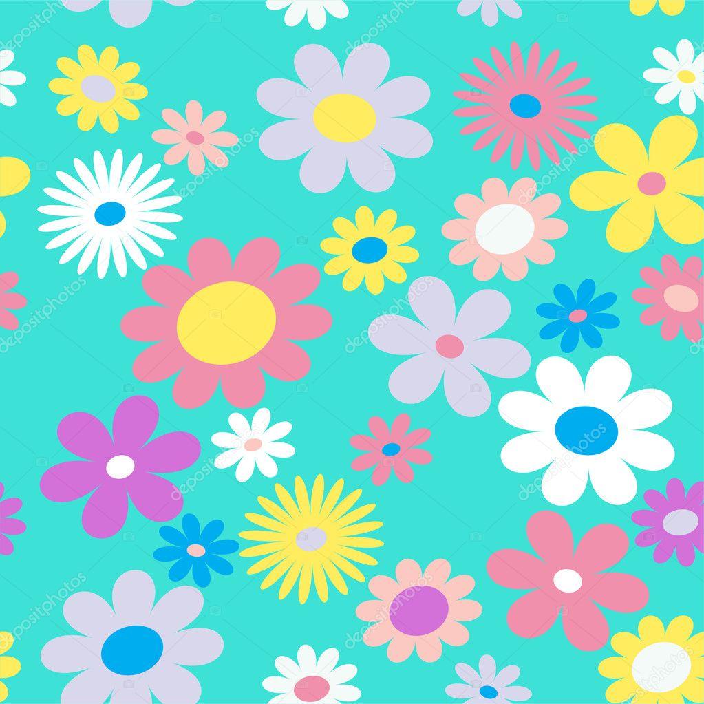Color flowers.