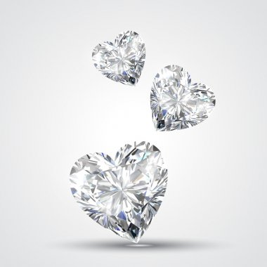 diamond shape heart
